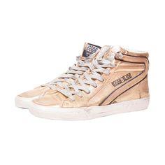 Golden Goose - Gold Hi Top Sneakers