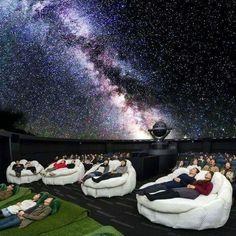 Konica Minolta Planetarium, Tokyo Japan.