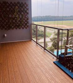 Ahh, balcony…. who doesn't love spending some time outdoors?  To make sure that the core of our decking has the highest level of dimension stability, evoDECK is structured with aluminium supports instead of traditional solutions that may incur rotting issues.  #evoDECK #EVORICH #Decking #EVORICHflooring #OutdoorDecking #DeckingDesigns #Singapore #BalconyDesign #NauticalTeakDesign #SingaporeCondo #Photooftheday #HDB #Renovation #RenovationSG #POTD #interiordesign #interiordesignsg… Outdoor Decking, Small Balcony Design, Stability, Teak, Singapore, Condo, Eco Friendly, Outdoors, House Design