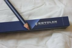 Kryolan, Faceliner, 35, review, long pencil, mlbb shade, long lasting, affordable, simple functional packaging