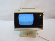 kenmore tv. vintage sharp model 3 s-111w solid state b/w tv very rare space kenmore tv