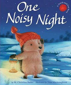 #kidlit Book of the Day: One Noisy Night @tigertalesbooks