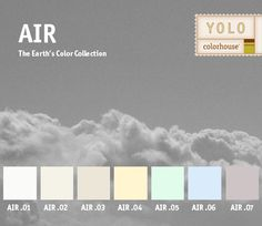 YOLO Colorhouse AIR color family