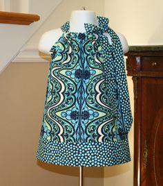 SALE toddler girl Pillowcase Dress Amy butler by BlakeandBailey, $15.00