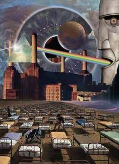 pink floyd high hopes pink floyd hey you pink floyd comfortably numb pink floyd pulse pink floyd echoes pink floyd dark side of the moon pink floyd marooned Arte Pink Floyd, Pink Floyd Band, Pink Floyd Album Covers, Pink Floyd Albums, Imagenes Pink Floyd, Pochette Cd, Pink Floyd Poster, Digital Foto, Alternative Rock