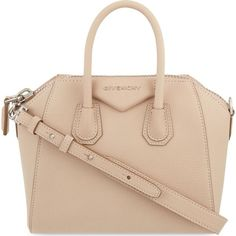 GIVENCHY Antigona mini soft-grained leather tote ($1,510) ❤ liked on Polyvore featuring bags, handbags, tote bags, zippered tote, givenchy purse, mini tote handbag, givenchy handbags and tote purse