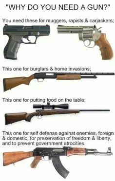 Why guns?