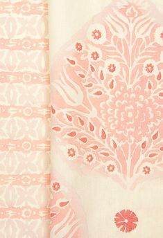 Stop Blushing - Galbraith & Paul Painting Wallpaper, Love Wallpaper, Fabric Wallpaper, Motifs Textiles, Textile Patterns, Up House, Big Girl Rooms, Gorgeous Fabrics, Pretty Patterns