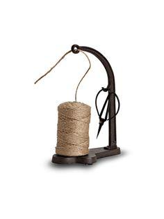 new cast iron string dispenser with scissors