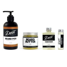 Our Basic Beard Grooming Kit is exactly that; the absolute bare necessities for daily beard care and grooming. Wash, tame and scent your beard with our core bread products. 8 oz. Beard Poo Beard Clean