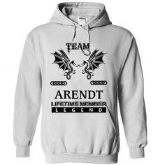 Cool (05_05) TEAM ARENDT LIFETIME MEMBER LEGEND T shirts
