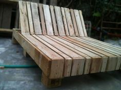 Pallet Double Lounge Chair Lounges & Garden Sets Pallets in The Garden