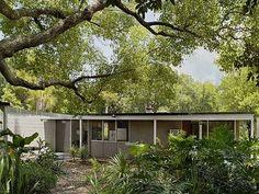 Mid-century Modern: Drexel House, Winter Haven, FL.  Gene Leedy, Architect (1954)