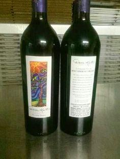 Bottles of Cabernet Franc