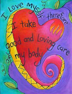 heart paintings - Bing Images