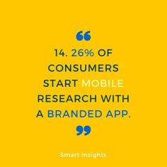 Mobile Marketing Automation | The importance of mobile marketing. 25 stats you must know #CRMforMobile #mobileStats