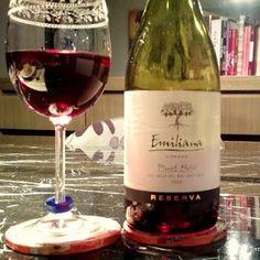 Vinho Tinto - Emiliana Pinot Noir 2013 O vinho Emiliana Reserva Pinot Noir 2013 possui cor vermelho-violeta, com um nariz que expressa aromas de frutas,  baunilha e notas florais suaves. Na boca, é um vinho frutado, com textura aveludada, médio e um acabamento intenso. Outro grande Pinot Noir chileno.