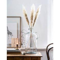 Vase Measurement 5000 ml Vt Wonen Bohemian Interior, Bohemian Decor, Interior Styling, Home Flower Arrangements, Grass Decor, Welcome To My House, Event Decor, Dried Flowers, Decoration