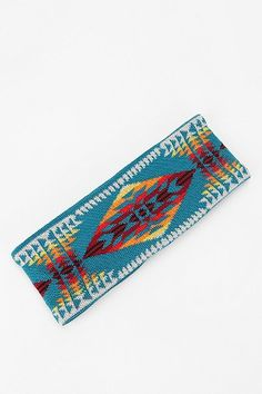 Pendleton Ear Warmer:  make these with the scraps!