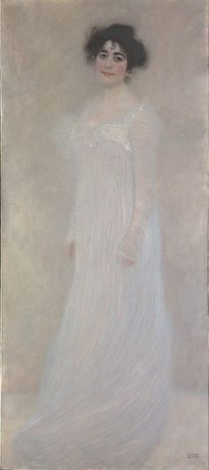 By Gustav Klimt (1862-1918), 1899, Serena Pulitzer Lederer (1867-1943), oil on canvas. Serena Pulitzer Lederer was a star of turn-of-the-century Viennese society. The painting was shown in 1901 at the tenth exhibition of the Vienna Secession