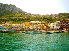 A View of Capri 8x10 by PositiveViews on Etsy, $15.00