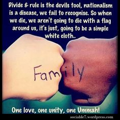 One Love One unity One Ummah! Religious Quotes, Islamic Quotes, Thank You Allah, Divide And Rule, Islam Marriage, Love In Islam, Learn Islam, Islam Religion, First Love