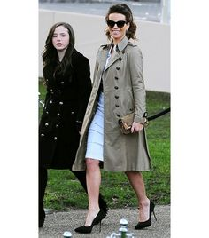 Now this is how I would do a trench coat...darker, almost military style