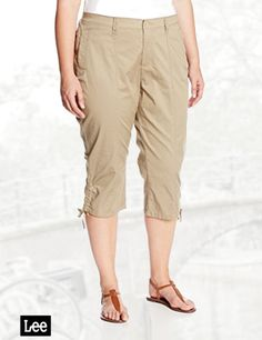 Lucky Brand Women's Sienna Chino Pant with Studs In Field Green ...