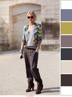 Hipster Chic Take clothes and get colors from it