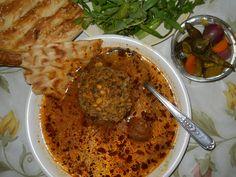 Adasi recipe lentil soup recipe website has brilliant simple koufteh sangak bread and pickles forumfinder Choice Image