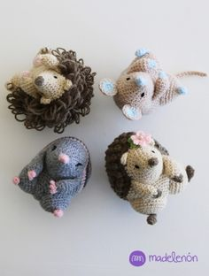My Countryside amigurumi pattern by Madelenon