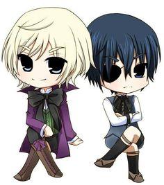 Chibi Alois & Ciel