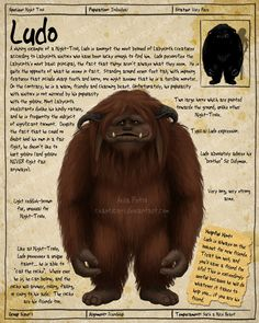 Labyrinth Guide - Ludo by Chaotica-I on DeviantArt