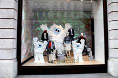 Snow monsters take over at J.Crew in #RegentStreet.