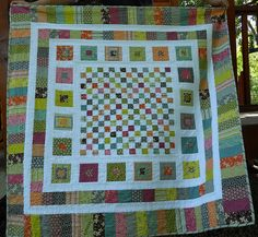 Bricks and Stones Quilt (pattern by Red Pepper Quilts) out of Hope Valley by Denyse Schmidt
