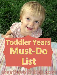 All the most fun things to do with your toddler be
