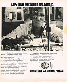 Publicite Advertising 104 1974 LIP Montres UNE Histoire D'Amour | eBay