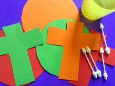 Flame: Creative Children's Ministry: You are the Light of the World: Oil and Paper Suncatchers