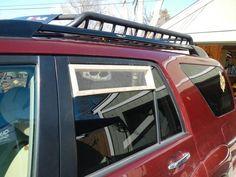 Great solutions for keeping the bugs out while retaining ventilation if you're camping in your vehicle!