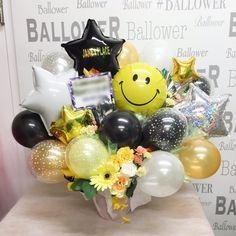 S__17965072 Balloon Basket, Balloon Box, Balloon Gift, Balloon Flowers, Balloon Bouquet, Balloon Arrangements, Balloon Centerpieces, Balloon Decorations, Birthday Decorations
