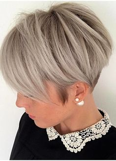 Wear the modern trends of piecey pixie short haircuts with side bangs if you have wide forehead. Pixie is one of the best styles of short haircuts for women to wear in their busy schedules in year 2018.