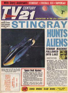 Classic Sci Fi, Classic Comics, Science Fiction Books, Pulp Fiction, 1960s Britain, Joe 90, Thunderbirds Are Go, Sci Fi Tv, Book Posters