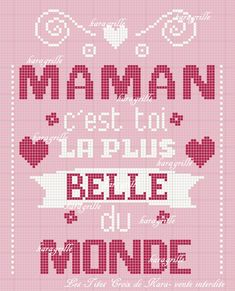 #lestitescroixdeKara Pixel Art, Messages, Embroidery, Text Posts, Text Conversations