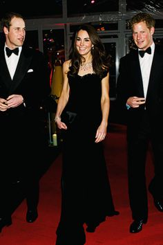 The royal family...William, Kate & Harry