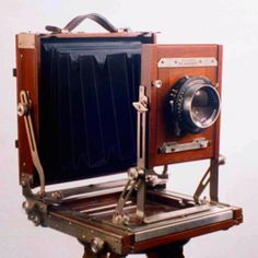 My 8x10 Deardorff view camera