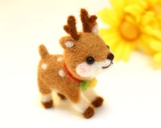 Cute little reindeer! I bet I could maybe make that....
