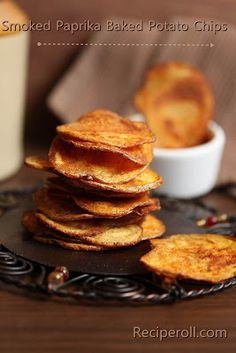 Try using sea salt when making these Smoked Paprika Potato Chips