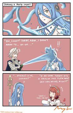 Fire Emblem: If/Fates - Aqua/Azura