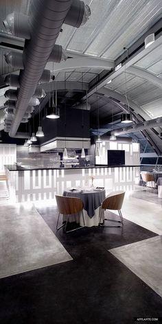 ♂ Contemporary commercial space interior design restaurants - Michelin_Restaurant_Josep_Ferrando