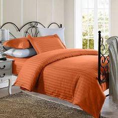 800Tc Luxurious Hotel Brand Orange Bedding Set 100% Egyptian Cotton In All Size*